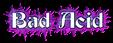 Font Becker Bad Acid Logo Preview
