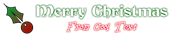 Font Becker Christmas Symbol Logo Preview
