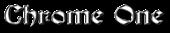 Font Becker Chrome One Logo Preview