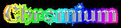 Font Becker Chromium Logo Preview