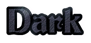 Font Becker Dark Logo Preview