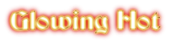 Font Becker Glowing Hot Logo Preview