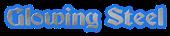 Font Becker Glowing Steel Logo Preview