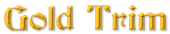 Font Becker Gold Trim Logo Preview