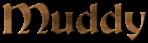 Font Becker Muddy Logo Preview
