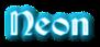 Font Becker Neon Logo Preview