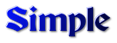 Font Becker Simple Logo Preview