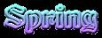 Font Becker Spring Logo Preview