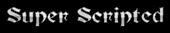 Font Becker Super Scripted Logo Preview