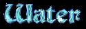 Font Becker Water Logo Preview