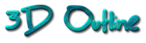 Font BigMisterC 3D Outline Textured Logo Preview