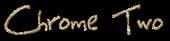 Font BigMisterC Chrome Two Logo Preview