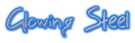 Font BigMisterC Glowing Steel Logo Preview