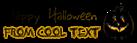 Font BigMisterC Halloween Symbol Logo Preview