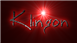 Font BigMisterC Klingon Logo Preview