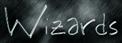 Font BigMisterC Wizards Logo Preview