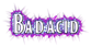 Font BOOTLE Bad Acid Logo Preview
