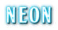 Font BOOTLE Neon Logo Preview