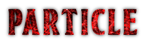 Font BOOTLE Particle Logo Preview
