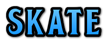 Font BOOTLE Skate Logo Preview
