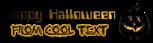 Font Computerfont Halloween Symbol Logo Preview