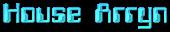 Font Computerfont House Arryn Logo Preview