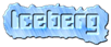 Font Computerfont Iceberg Logo Preview
