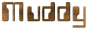 Font Computerfont Muddy Logo Preview