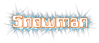 Font Computerfont Snowman Logo Preview