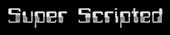 Font Computerfont Super Scripted Logo Preview