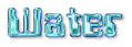Font Computerfont Water Logo Preview