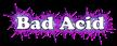 Font Cooper Bad Acid Logo Preview