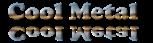 Font Cooper Cool Metal Logo Preview