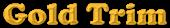 Font Cooper Gold Trim Logo Preview