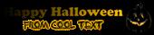 Font Cooper Halloween Symbol Logo Preview