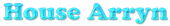 Font Cooper House Arryn Logo Preview