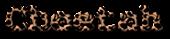 Font Courier Cheetah Logo Preview