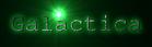 Font Courier Galactica Logo Preview