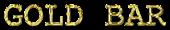 Font Courier Gold Bar Logo Preview