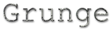 Font Courier Grunge Logo Preview