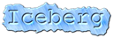 Font Courier Iceberg Logo Preview