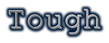 Font Courier Tough Logo Preview