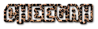 Font Dimitri Cheetah Logo Preview