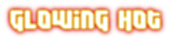Font Dimitri Glowing Hot Logo Preview