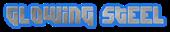 Font Dimitri Glowing Steel Logo Preview