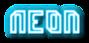 Font Dimitri Neon Logo Preview