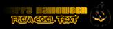 Font Elvis Halloween Symbol Logo Preview