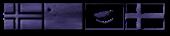 Font Flags Felt Logo Preview