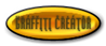 Font ForeignSheetMetal Graffiti Creator Button Logo Preview