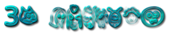 Font Fred 3D Outline Textured Logo Preview